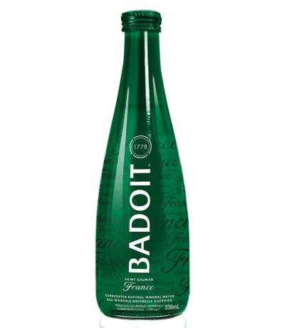 естествено газирана минерална вода Бадуа 330мл бутилка стъкло