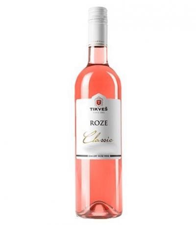 вино Тиквеш 750мл Розе Класик