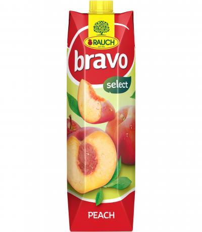 напитка Раух Браво 1л Праскова и Ябълка 50%