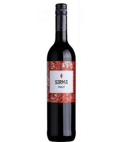 вино Сирма 750мл Мерло