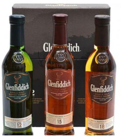 уиски Гленфидиш колекция 3 X 200мл