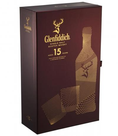 уиски Гленфидиш 700мл Сингъл малц 15г с две чаши