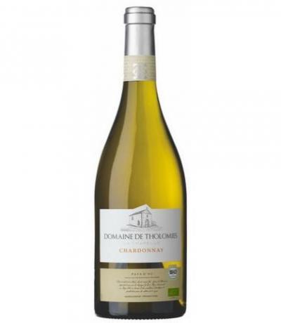 био вино Домен ду Толоми 750мл Шардоне Паи Д`ок IGP