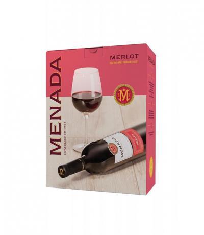вино Менада 3л Мерло