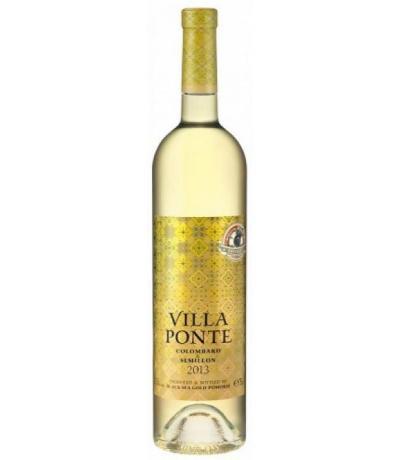 вино Поморие Вила Понте 750мл Коломбар и Семийон