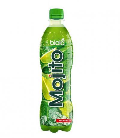 безалкохолна сокова напитка средно-газирана БИОЛА 500мл МОХИТО