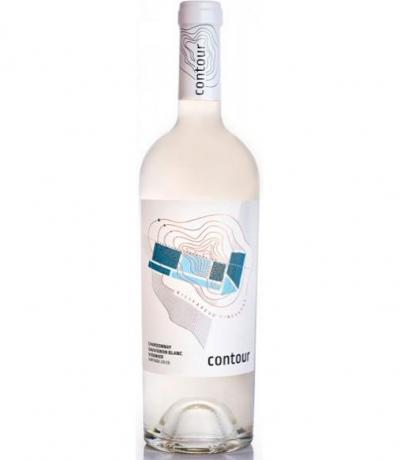 вино Контур 750мл Шардоне&Совиньон Блан&Вионие