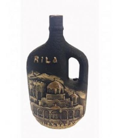 вино Мерло от Хърсово 750мл 48 Рилски манастир Черно Злато