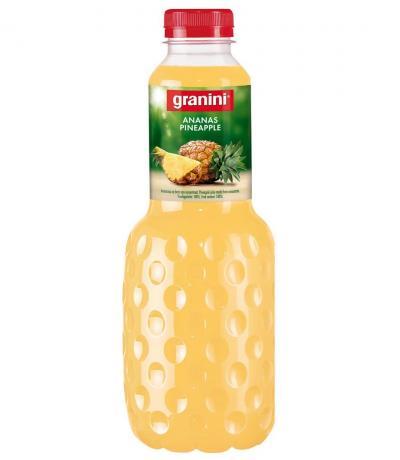 натурален сок Гранини 1л Ананас