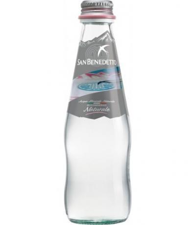 натурална минерална вода Сан Бенедето 250мл стъклена