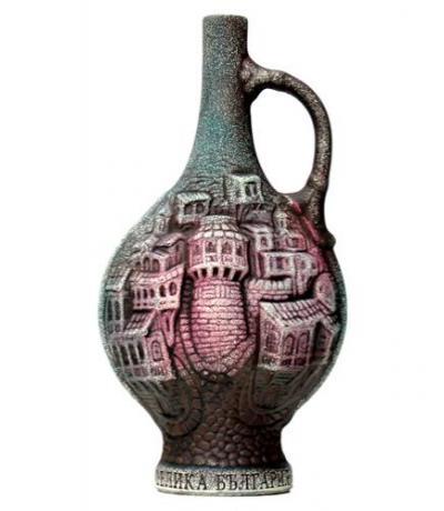 вино Мерло от Хърсово 750мл 11 Стар Град Зелено