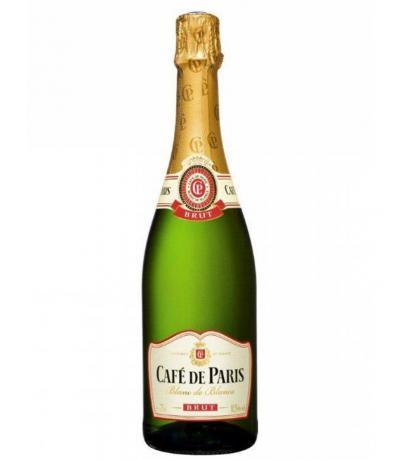 пенливо вино Кафе дьо Париж 750мл Брут