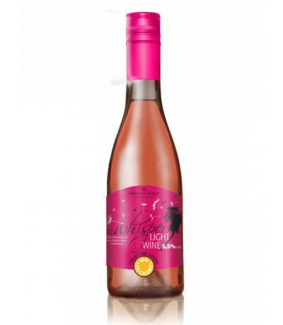 Ниско алкохолно вино Уиспър 375мл Розе