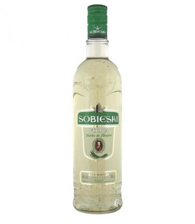 водка Собиески 700 мл. Зелен