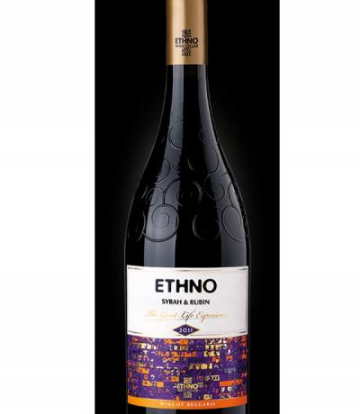 вино Етно 750мл Сира и Рубин ЕТНNО