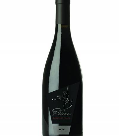 вино вила Юстина Прима 750мл каберне фран