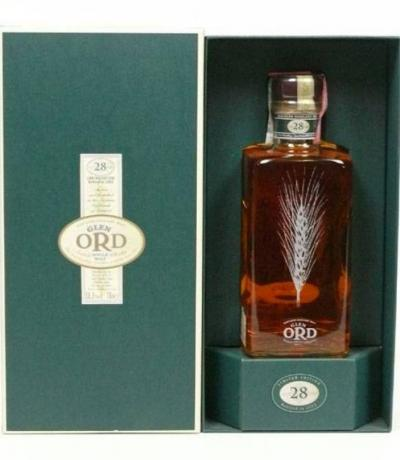Wiskey Glen Ord 28 Year Old