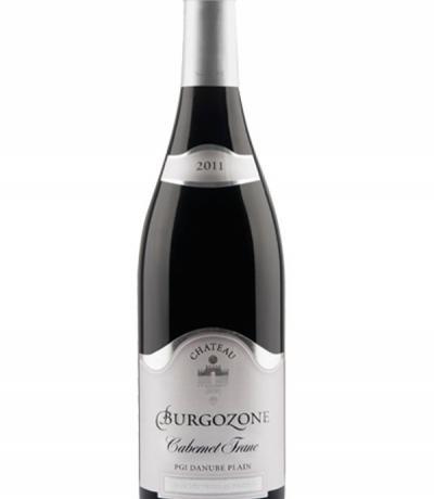 вино Шато Бургозоне силвър  750мл Каберне Фран 2011