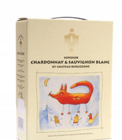 вино Шато Бургозоне БИБокс 3000мл Шардоне & Совиньон блан 2011