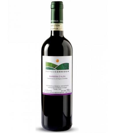 вино Матео Кореджа 750мл Барбера д'Алба DOCG 2016г