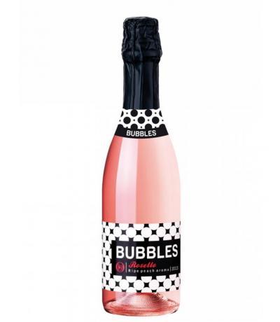пенливо вино Бъбълс 0,375 л. Розело