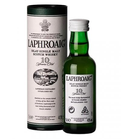 LAPHROAIG 10 YO SINGLE MALT MINI