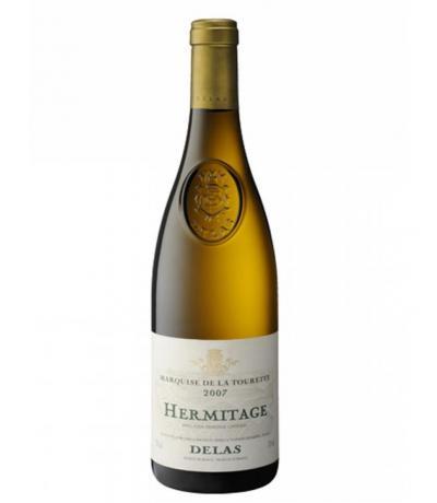 wine Delas Hermitage Blanc Domein de Touret 0.75 2012