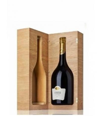 шампанско Тетанже Конт де Шампан 6000мл Блан Де Блан  в лимитирана дървена кутия 2006