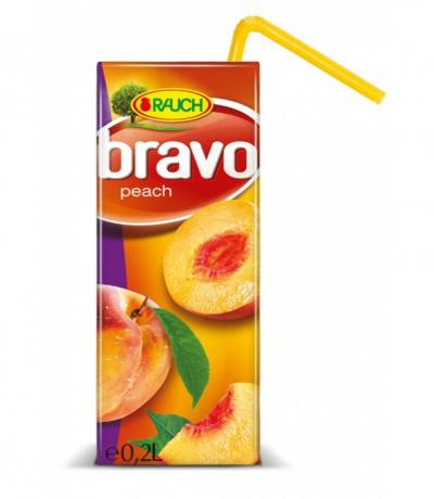 напитка Браво 200мл Праскова 50%