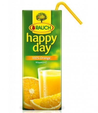 натурален сок Хепи Дей 0.200мл Портокал
