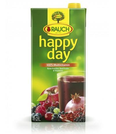 натурален сок Хепи дей 2000мл Червен Мултивитамин