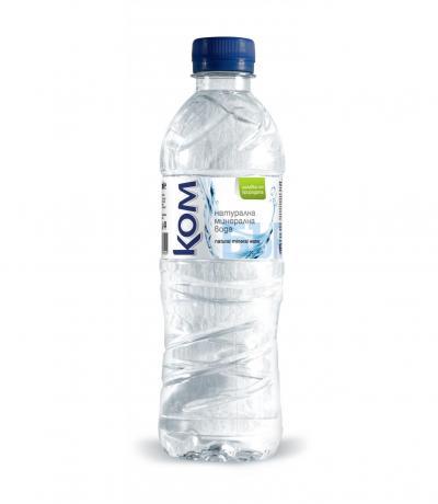 минерална вода КОМ 500мл пластмаса