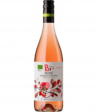 вино Едоардо Миролио Био 750мл Розе Мавруд и Букет