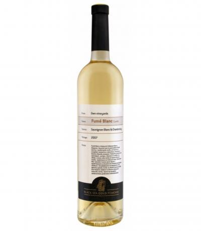 вино Поморие Фюме блан 750мл Совиньон блан и Шардоне
