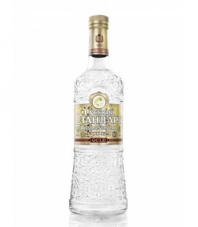 водка Руски Стандарт 700мл. Gold