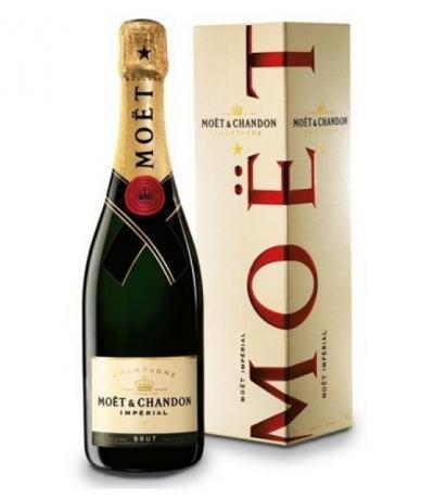 шампанско Моет и  Шандон 750 мл. Империал брут с кутия