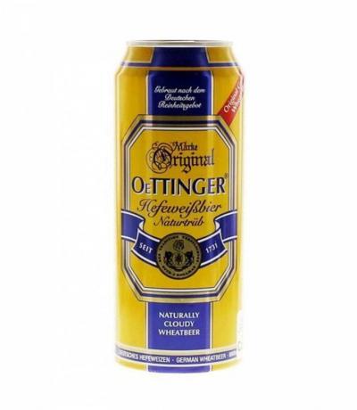 бира Отингер 500мл Хефевайс КЕН