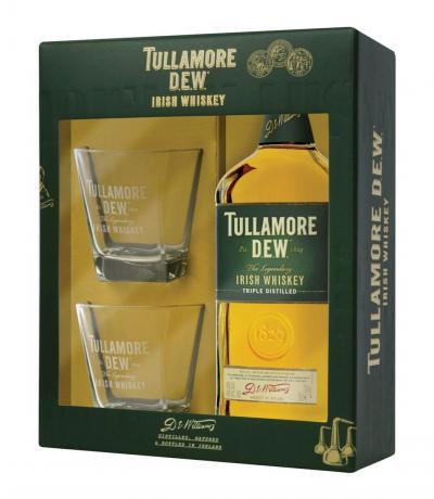 уиски Тюламор Дю 700мл с 2 чаши