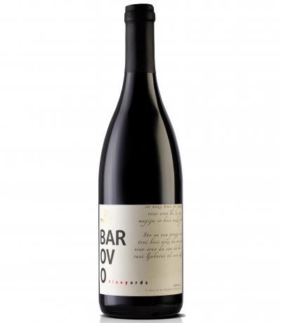 вино Тиквеш 750мл Барово Червено