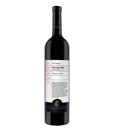 колекционно вино Бренди Каск 750мл Каберне Совиньон