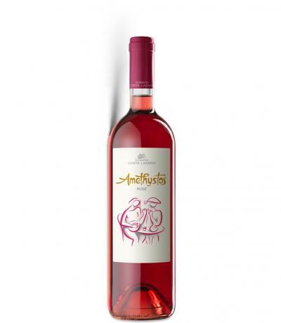 вино Аметистос 750мл Розе