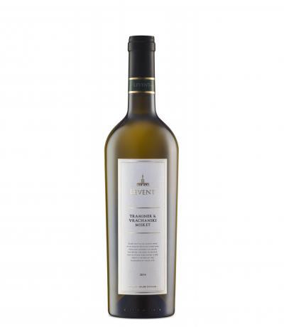 вино Левент 750мл Траминер и Врачански Мискет