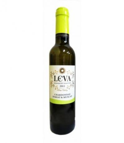 вино Лева 375мл Шардоне, Димят и Мускат